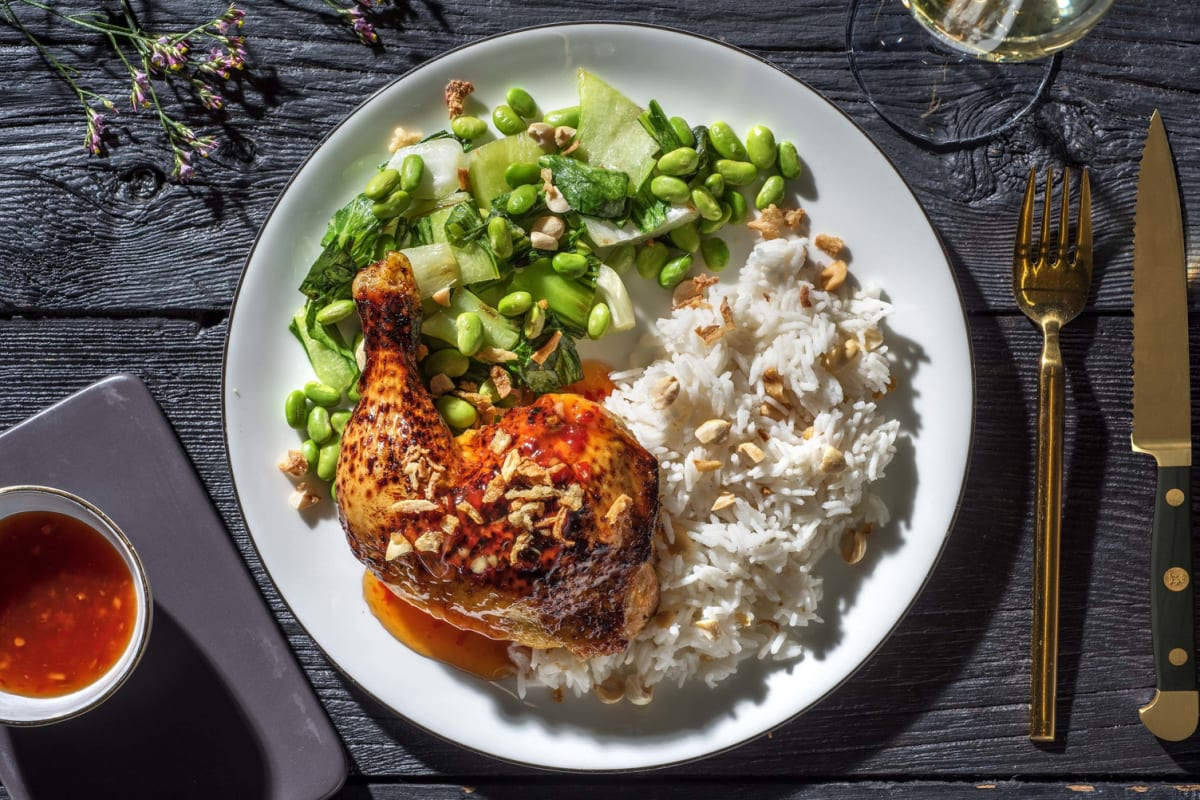 Chinese Glazed Roast Chicken