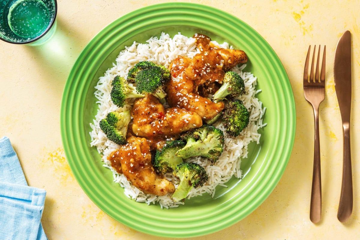 Chinese Orange Chicken Recipe Hellofresh
