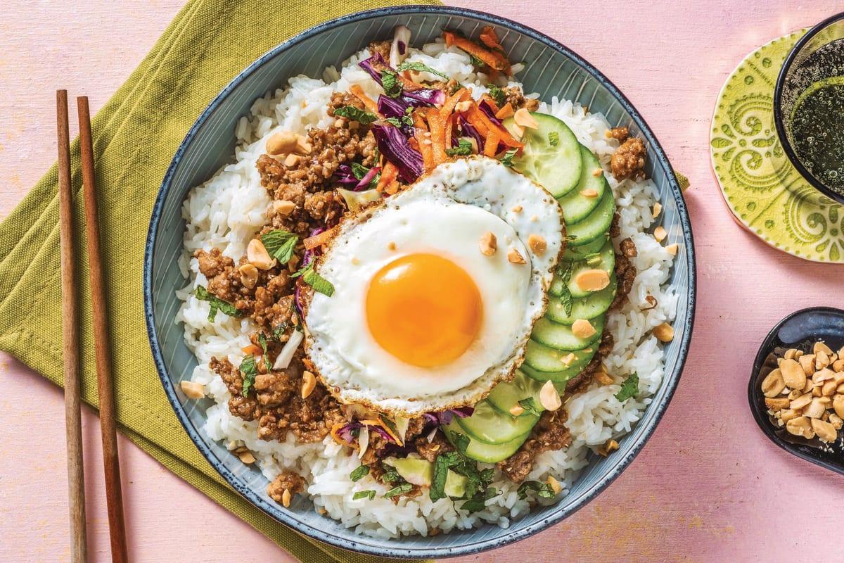 Vietnamese Caramelised Pork Bowl