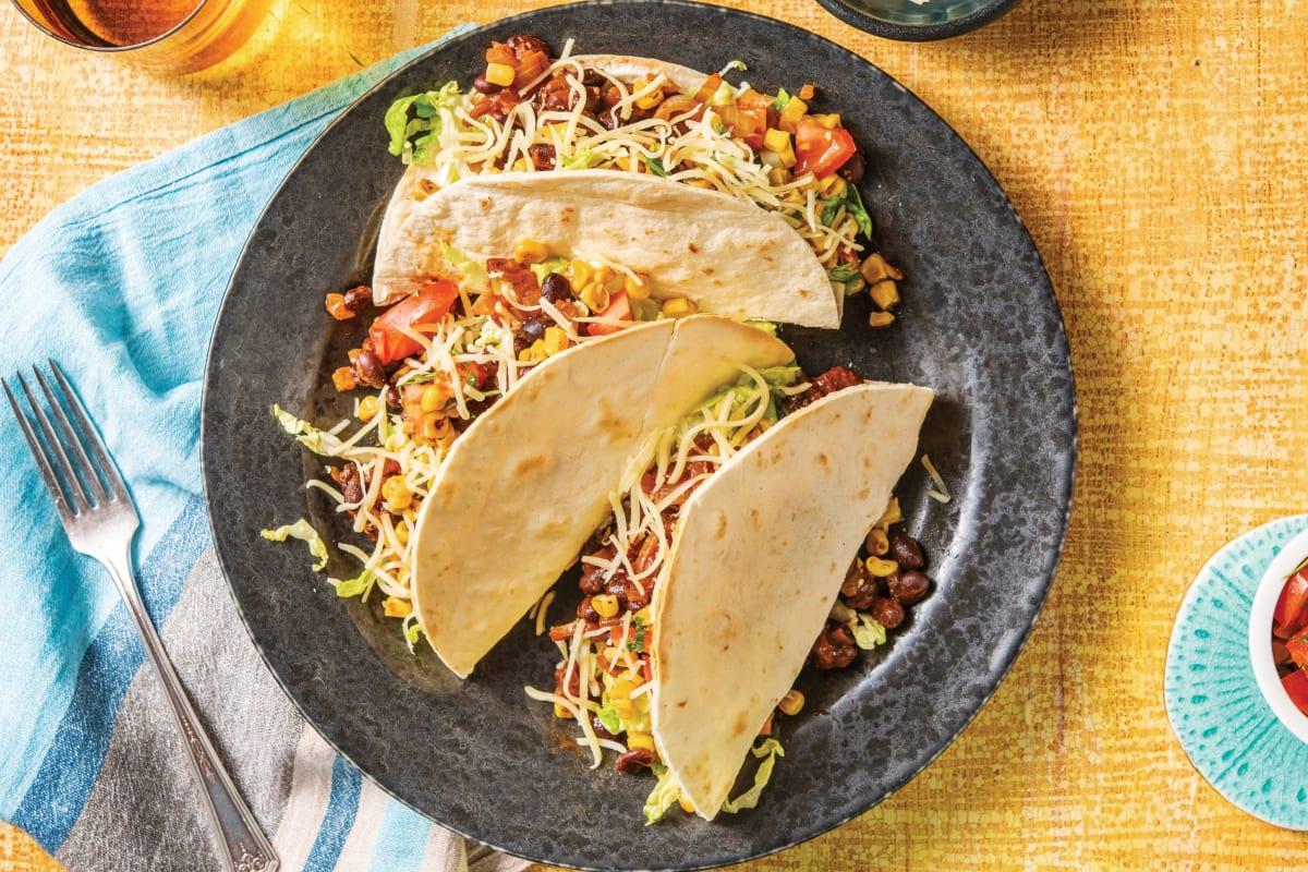 Chipotle Black Bean Tacos