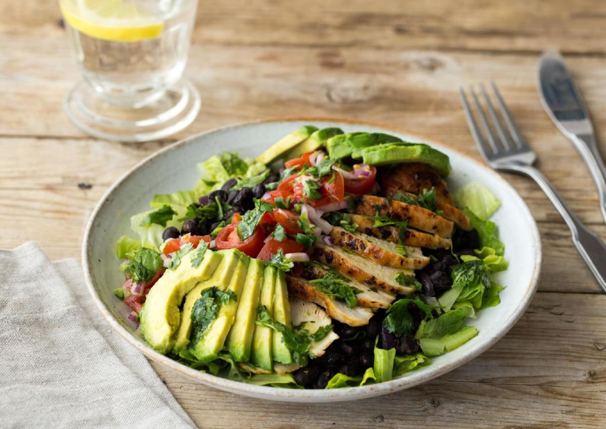 Chipotle-Rubbed Chicken Salad