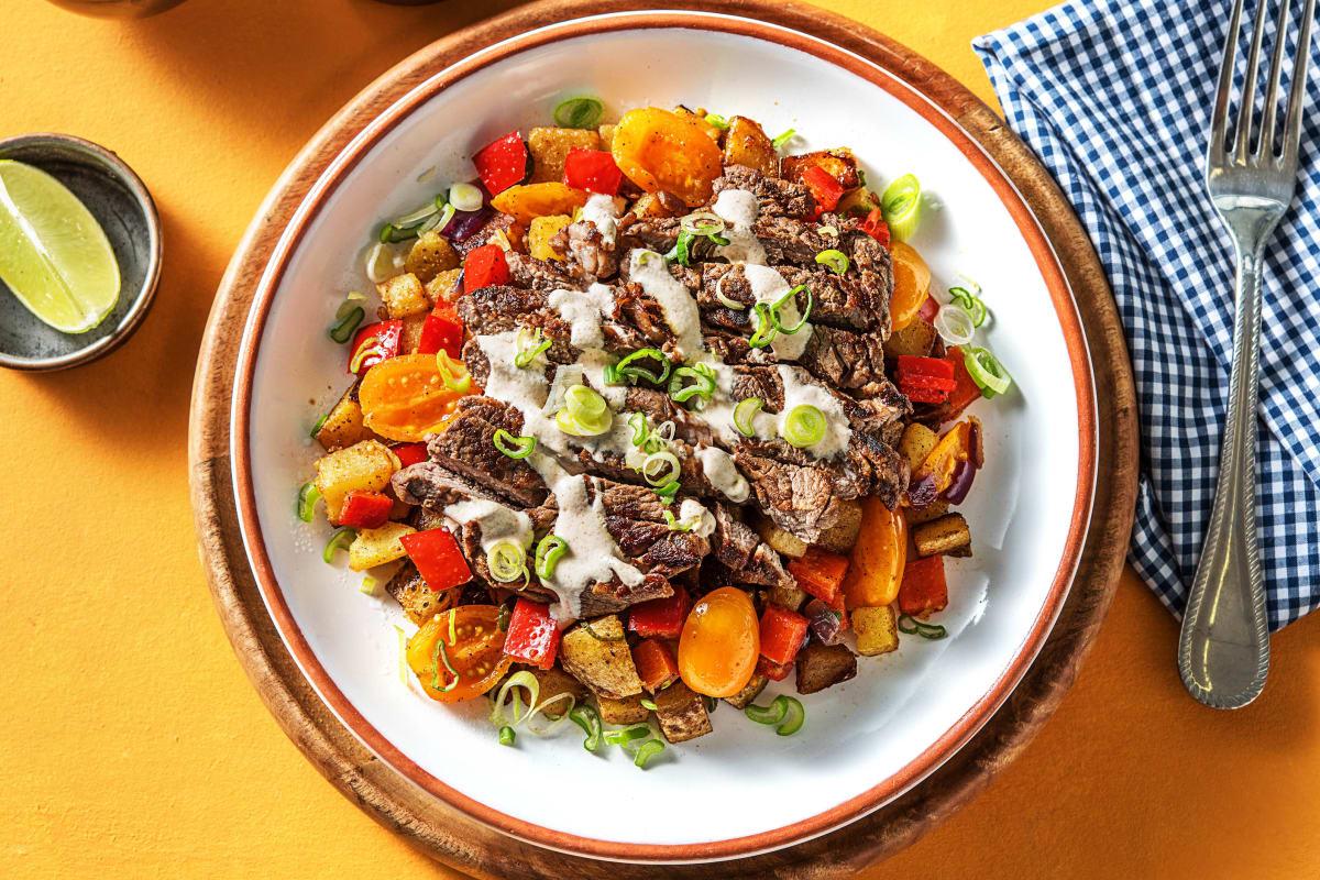 Chipotle-Spiced Steak