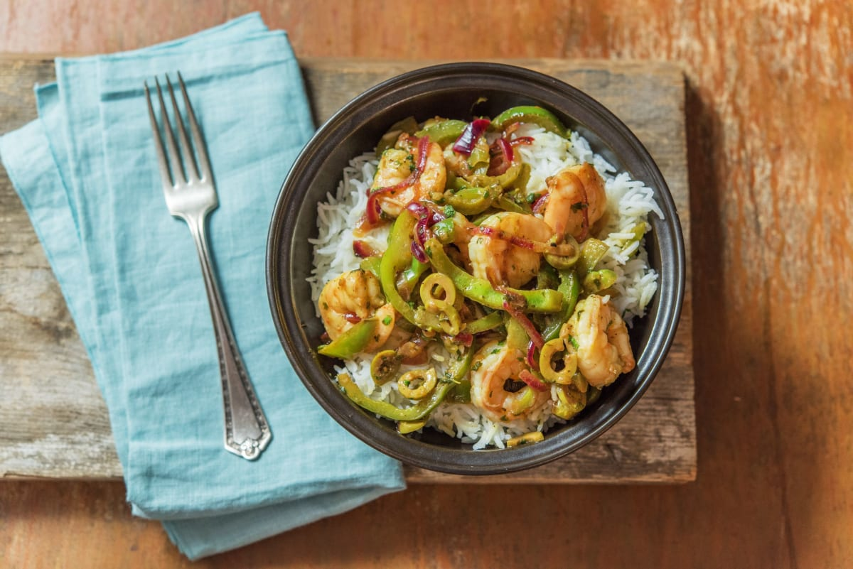 Citrus Skillet Shrimp