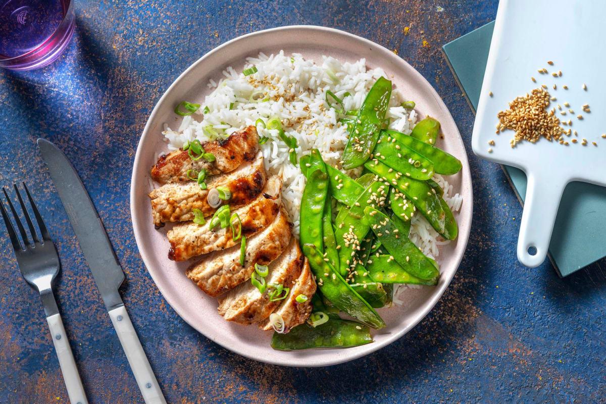 Honey-Hoisin Glazed Pork Chops