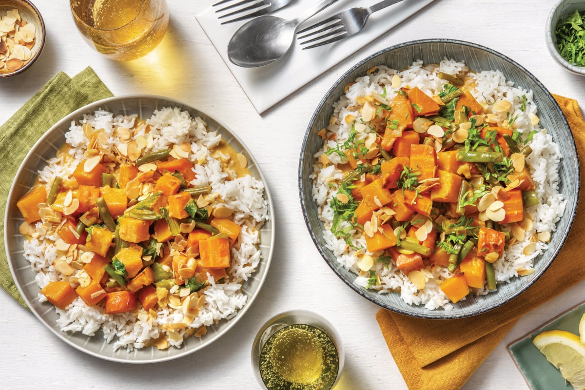 Creamy Roasted Pumpkin Curry