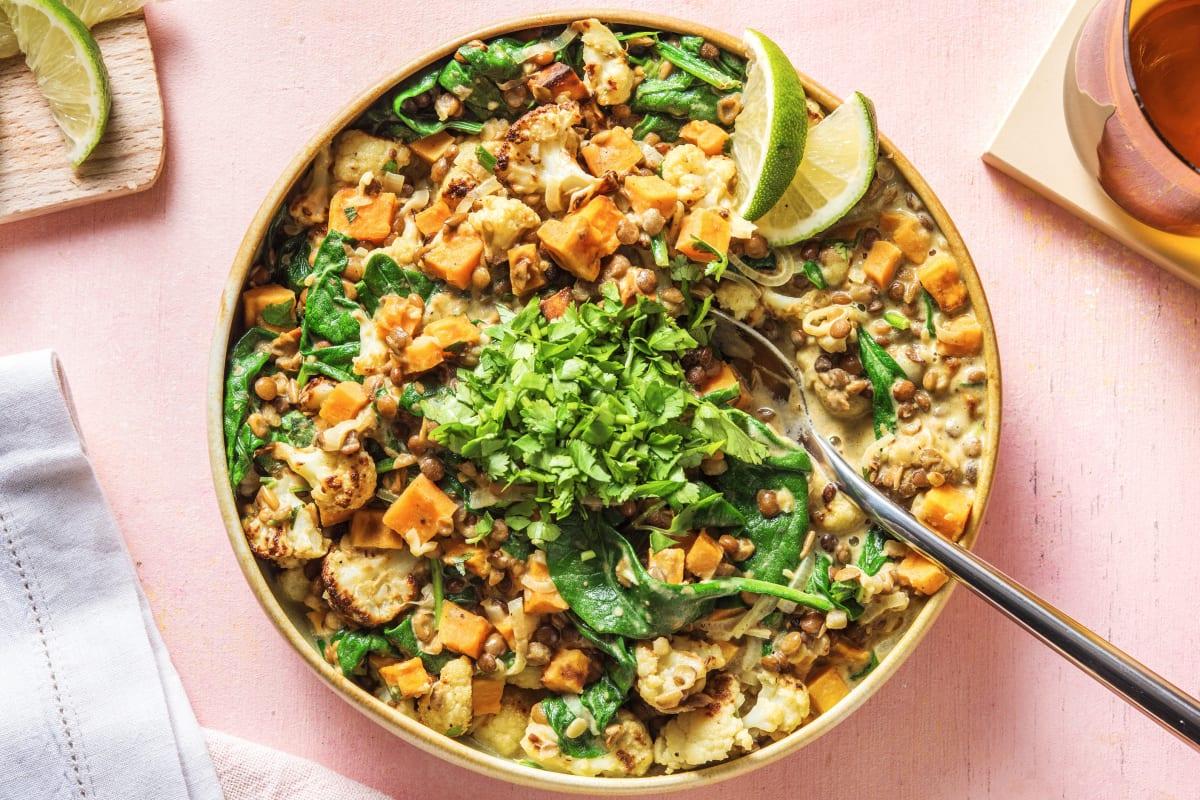 Creamy Spiced Lentil Curry