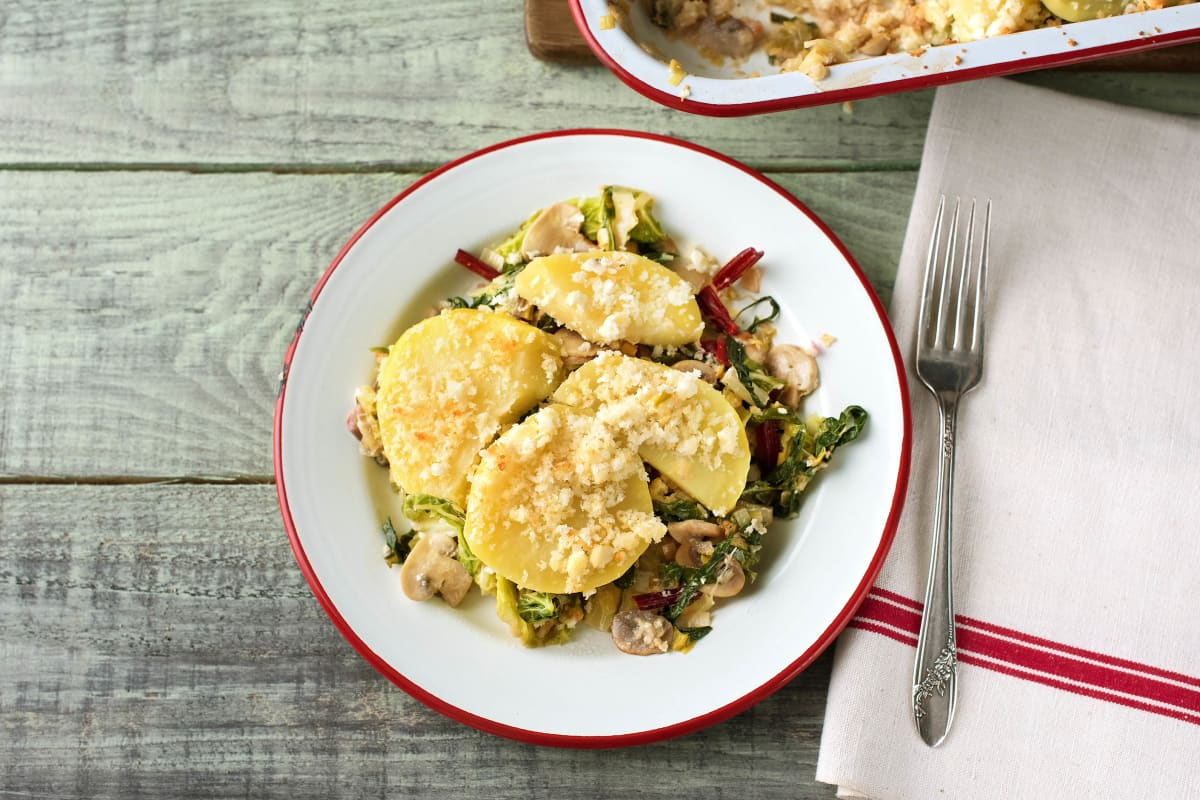 Creamy Vegetable and Feta Pie