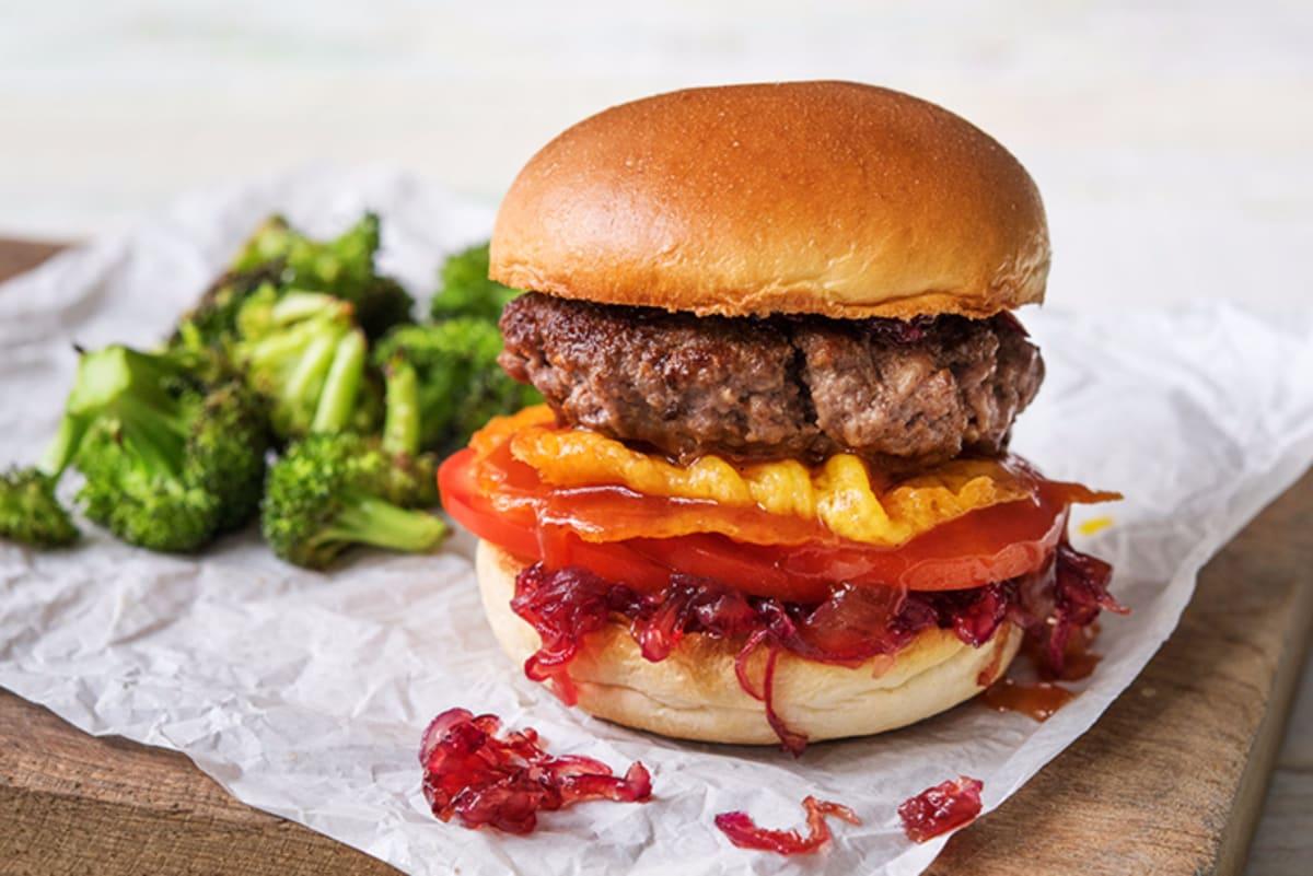 Crispy Cheddar Frico Cheeseburgers