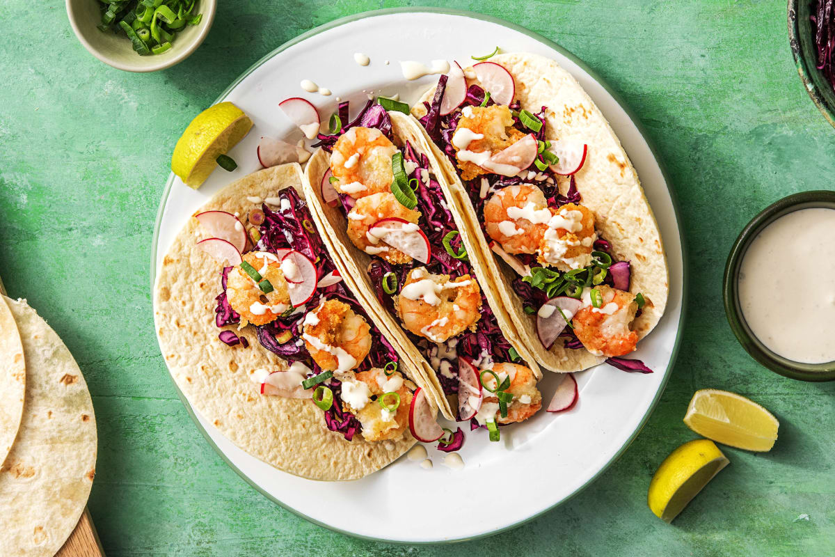 Crispy Chipotle Shrimp Tacos