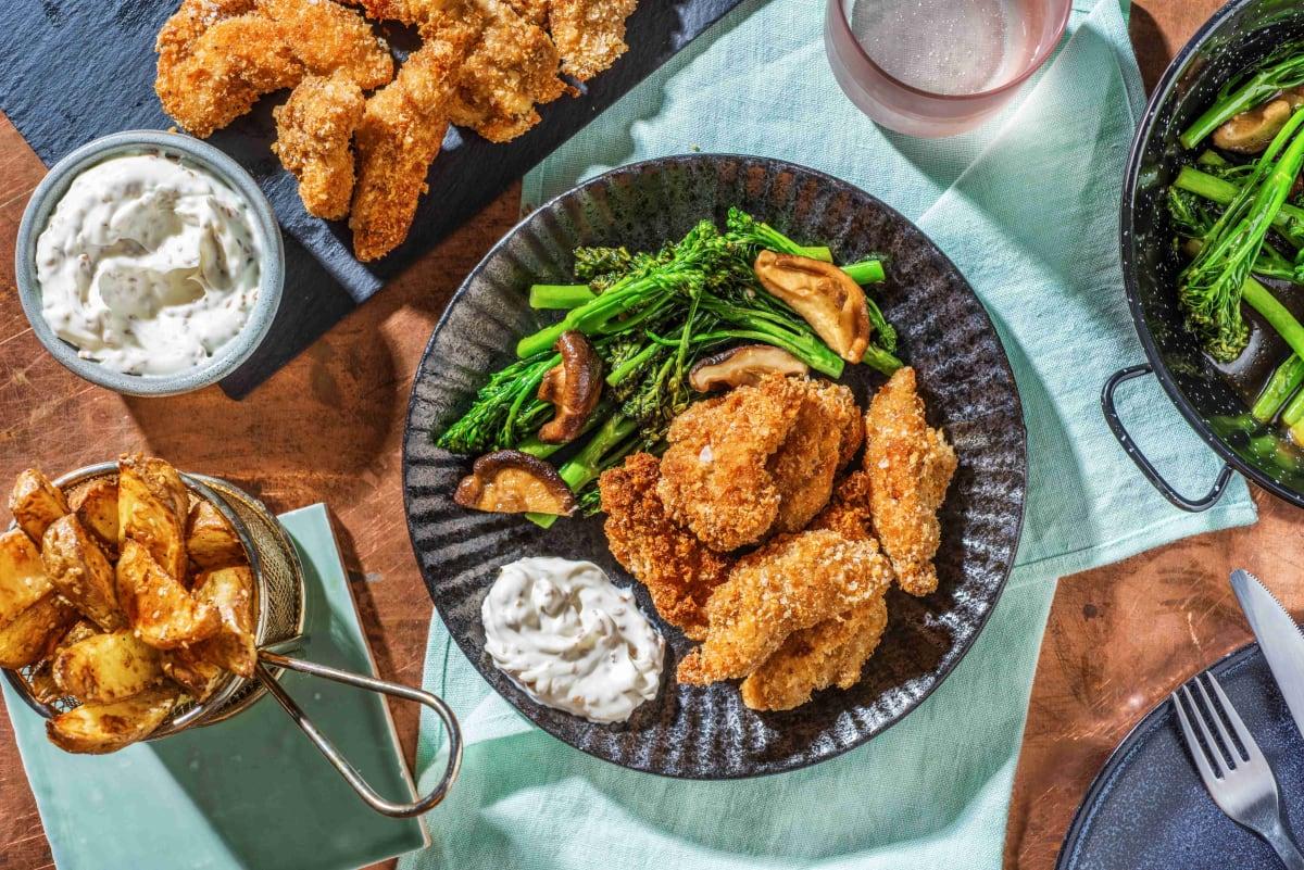 Crispy Japanese Style Fried Chicken