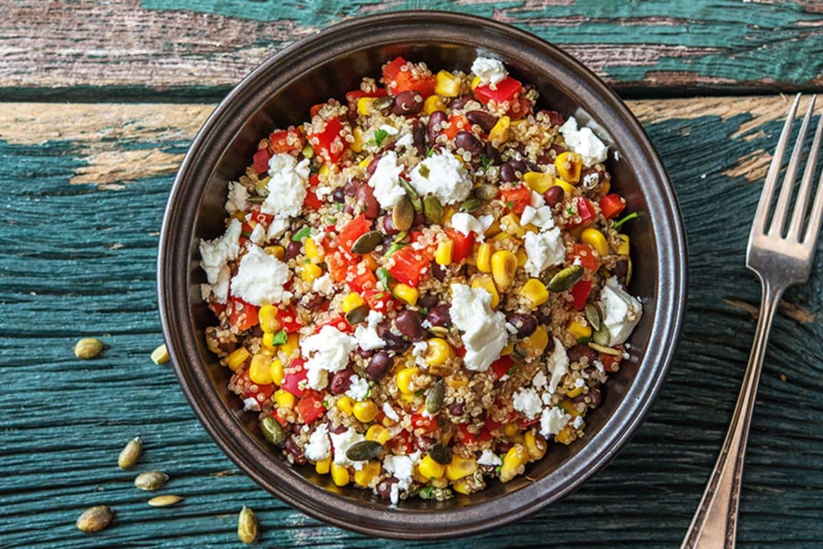 Cumin Quinoa Bowl