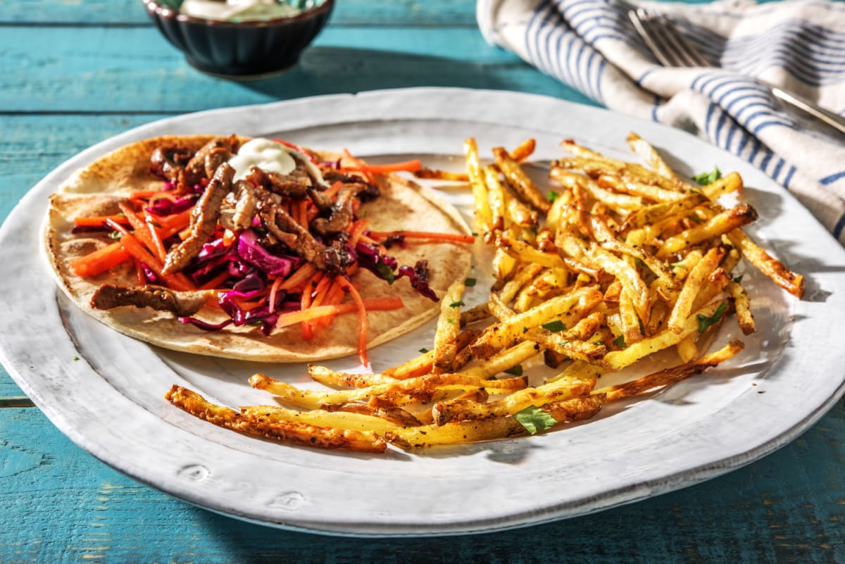 East Coast Style Beef Donair Recipe Hellofresh