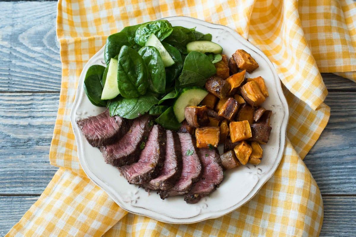 Dukkah Crusted Beef
