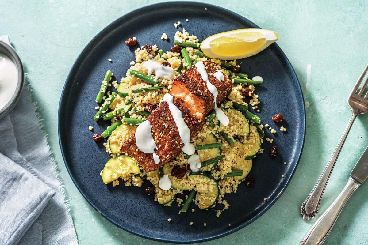 Dukkah-Crusted Salmon