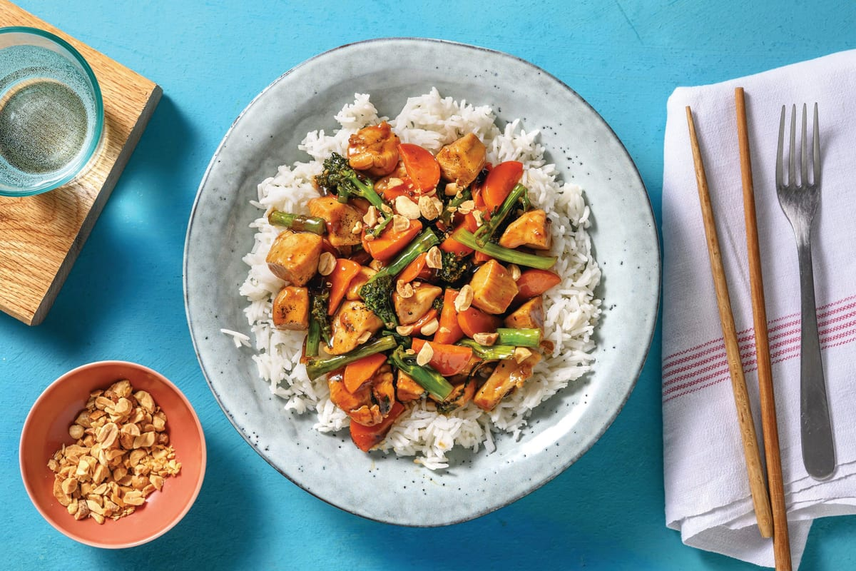Easy Pepper & Onion Chicken Stir-Fry