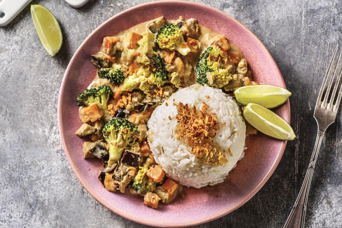 Eggplant & Pumpkin Thai Green Curry