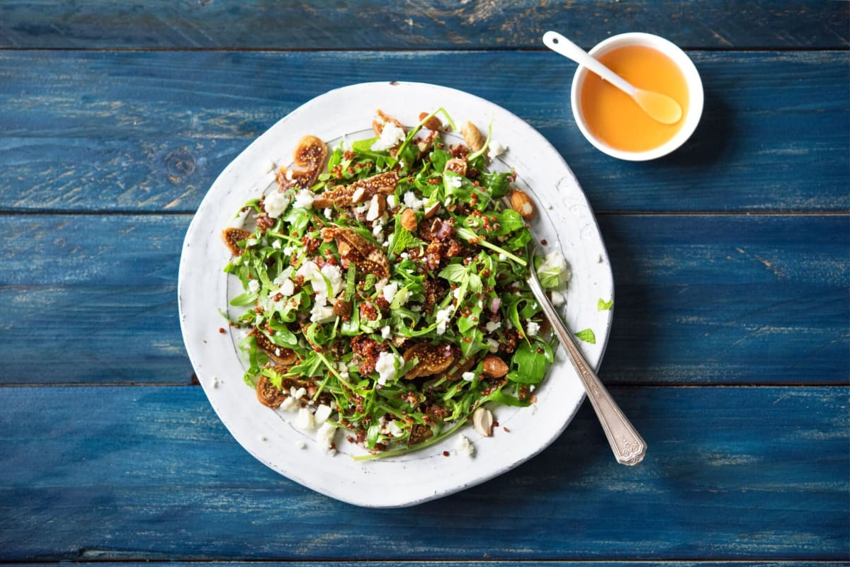 Fig And Quinoa Salad Recipe Hellofresh