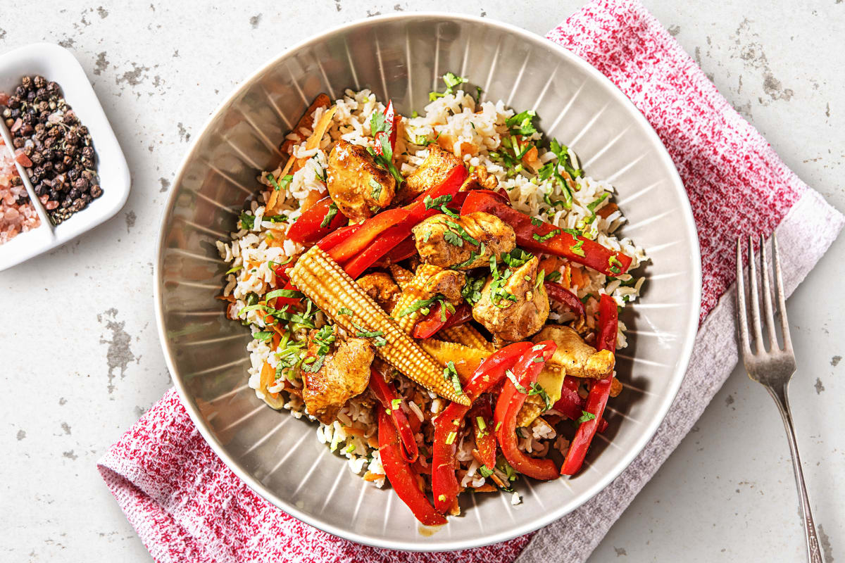Chicken Stir Fry With Rice Recipe Hellofresh