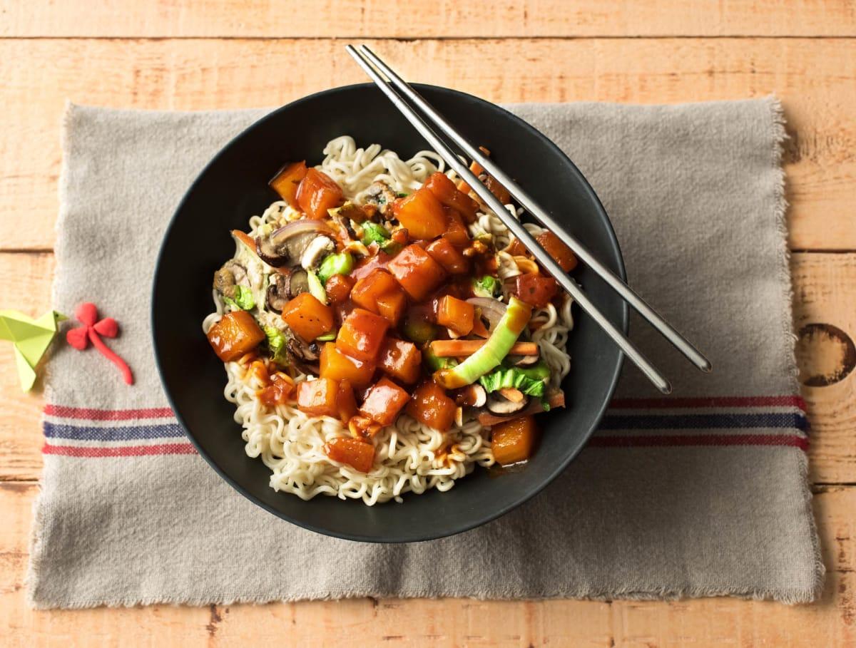 Foe yong hai met Oosterse groenten