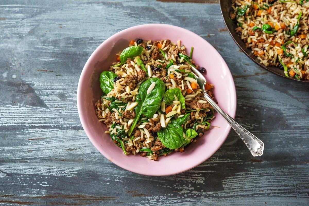 Mediterranean Lamb Hashweh Rice