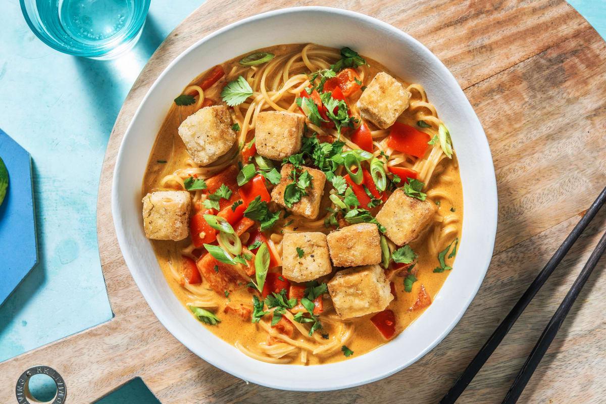 Fragrant Tofu Laksa