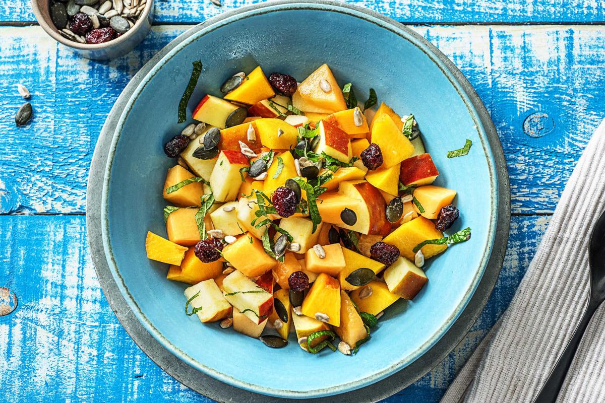 Salade de fruits aux noix
