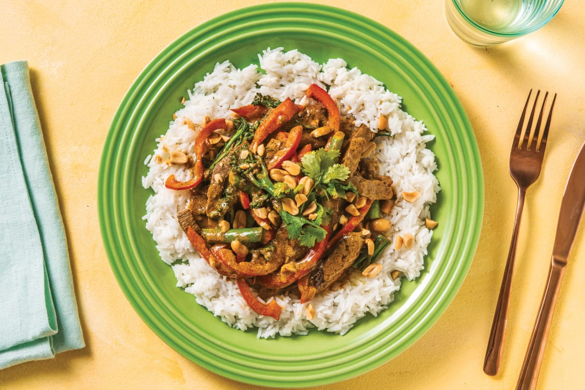 Bengal Beef Curry with Rice & Veggies