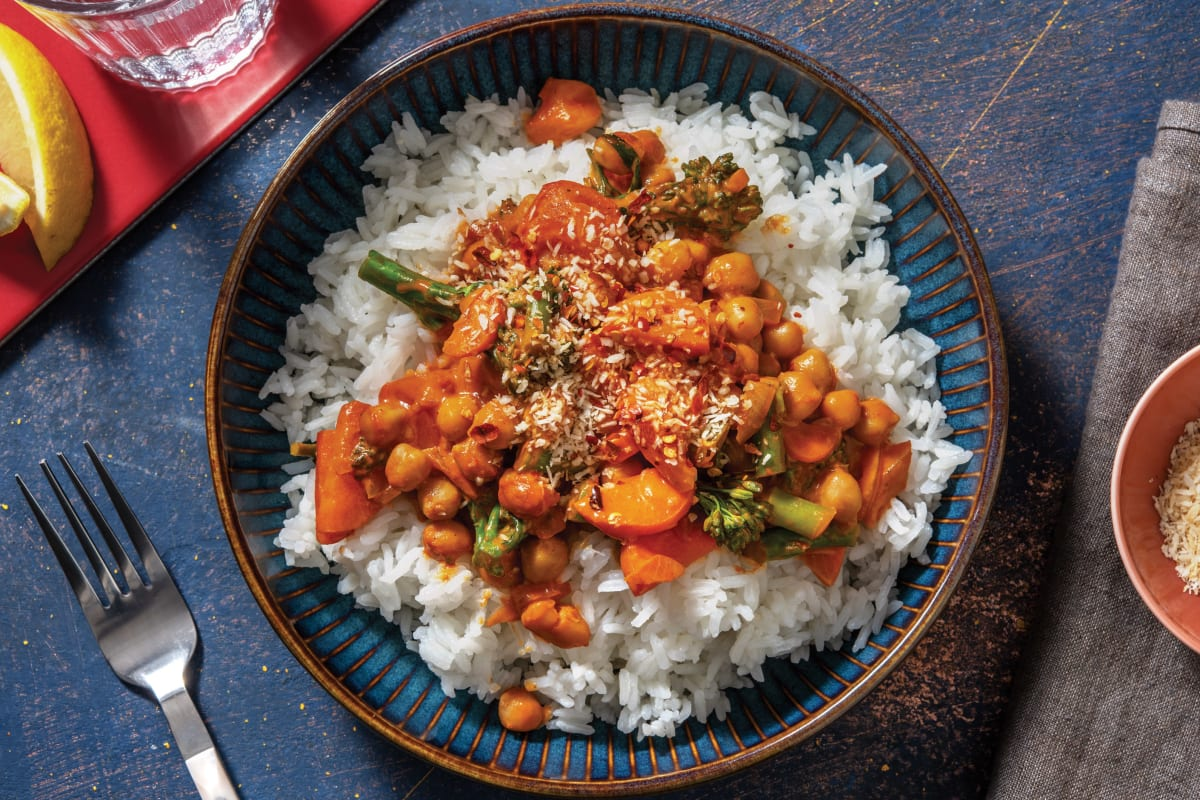 Sri Lankan Chickpea Curry