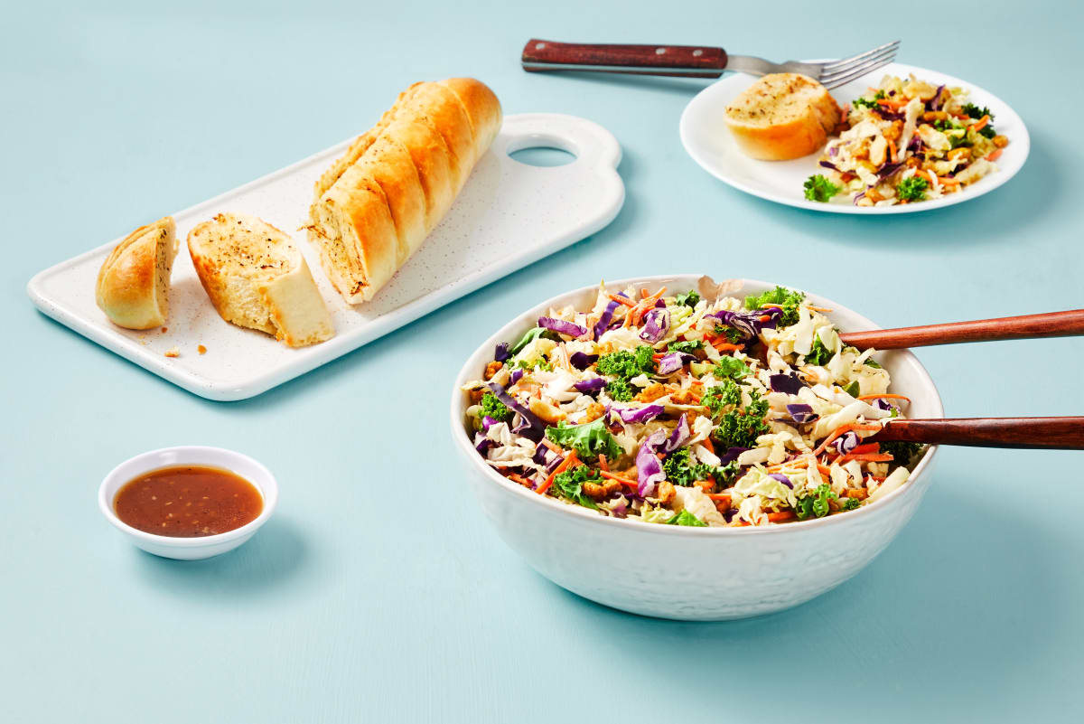 Garlic Bread & Crunchy Sesame Salad Combo