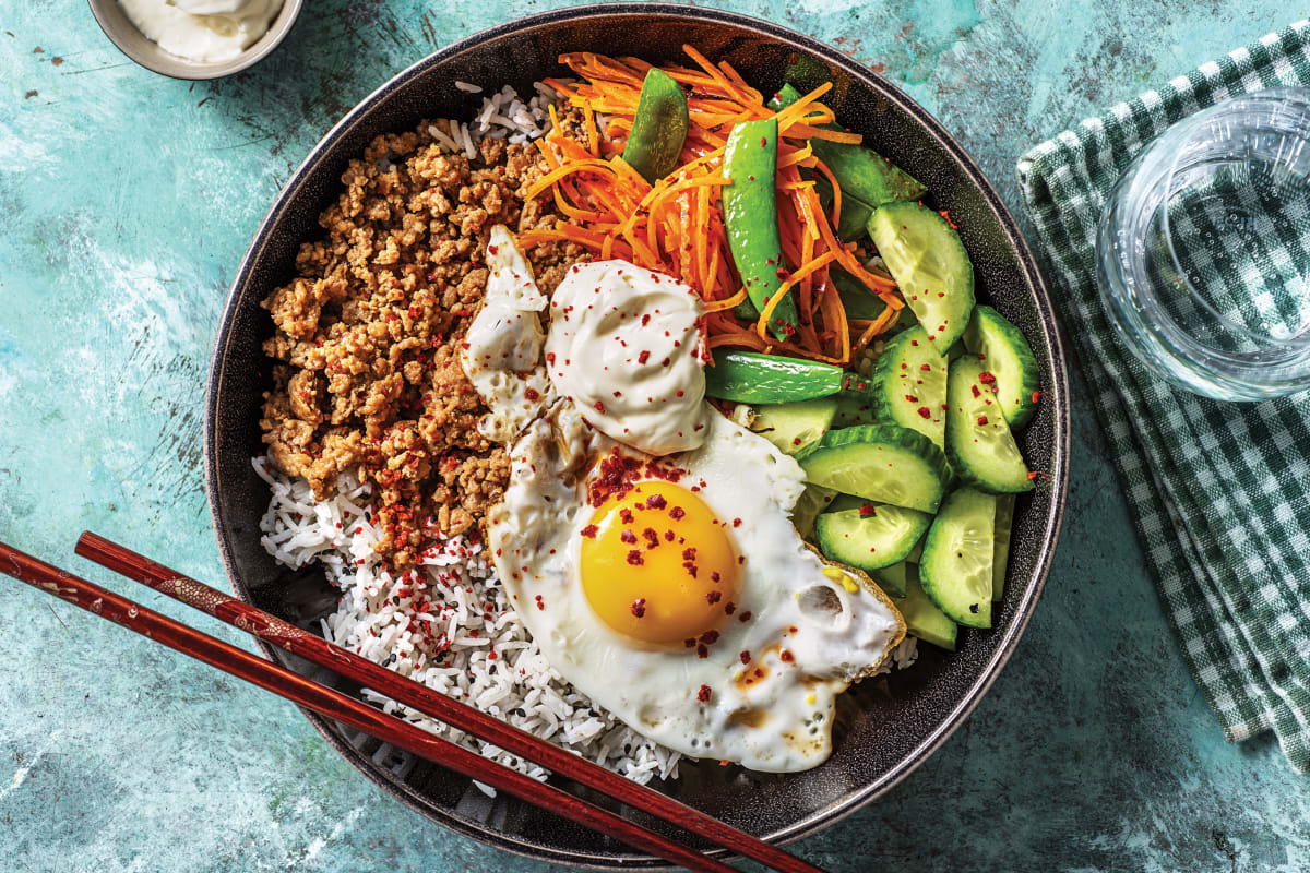 Korean Pork Bibimbap