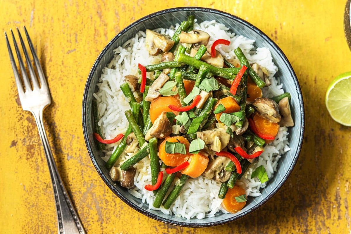 Gelbes Thai-Curry