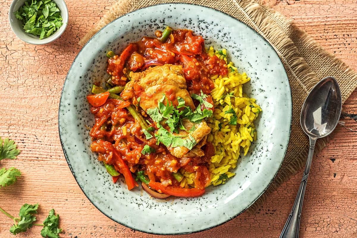 Golden Chicken Curry