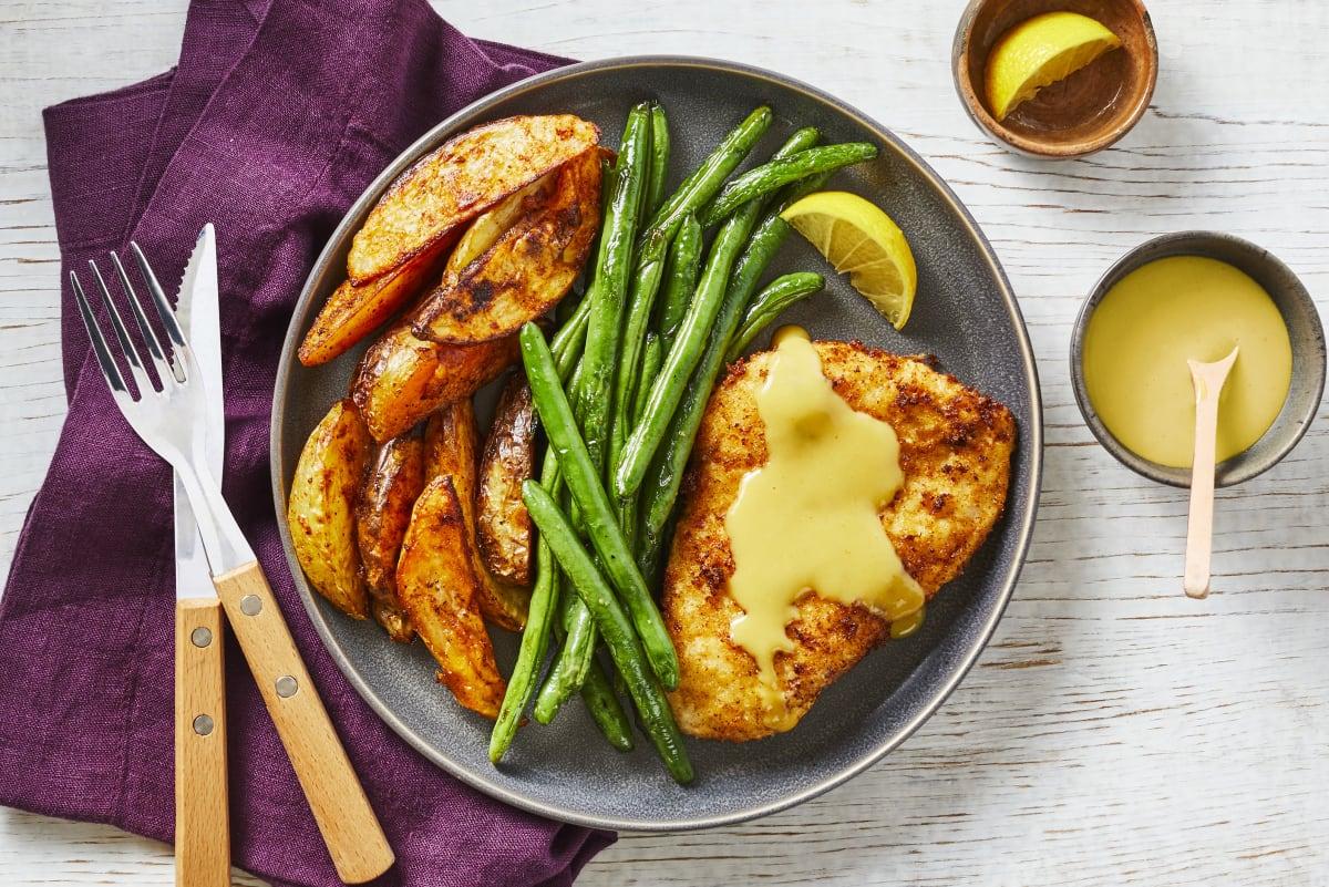 Golden Chicken Schnitzel