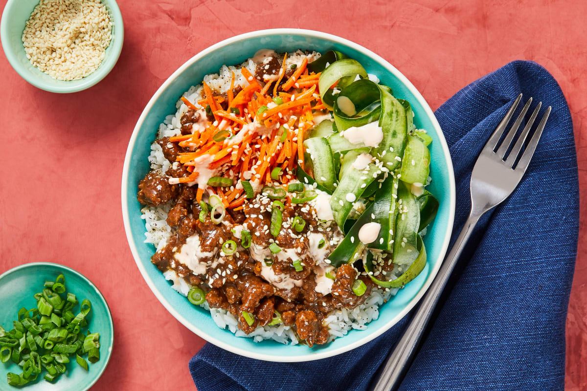 Beef Bulgogi Bowls Recipe Hellofresh