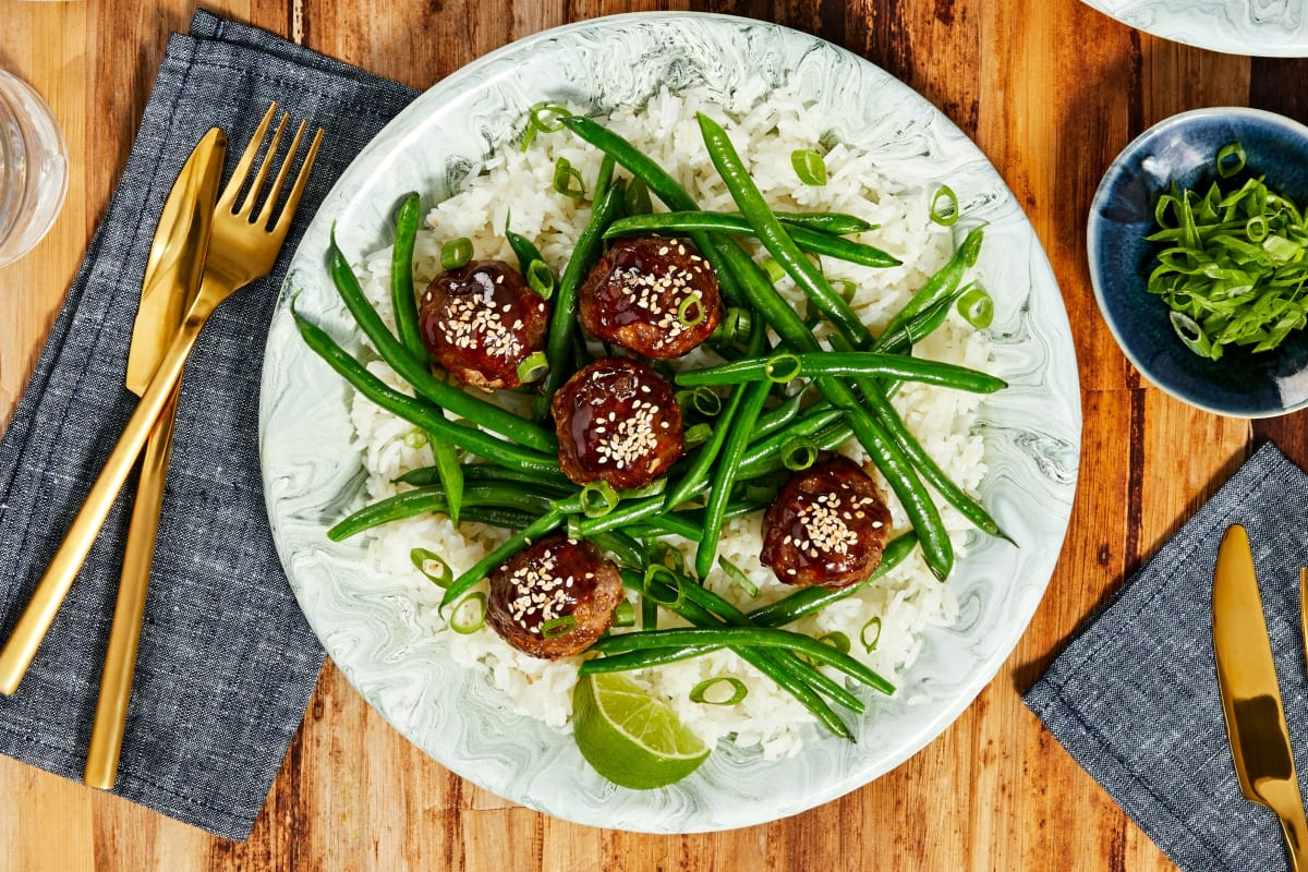 Hoisin-Glazed Meatballs