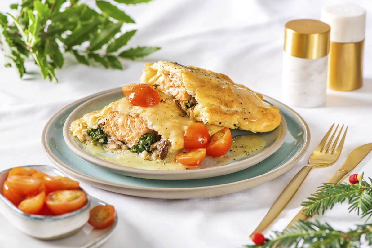 Holiday-Ready Salmon Wellington