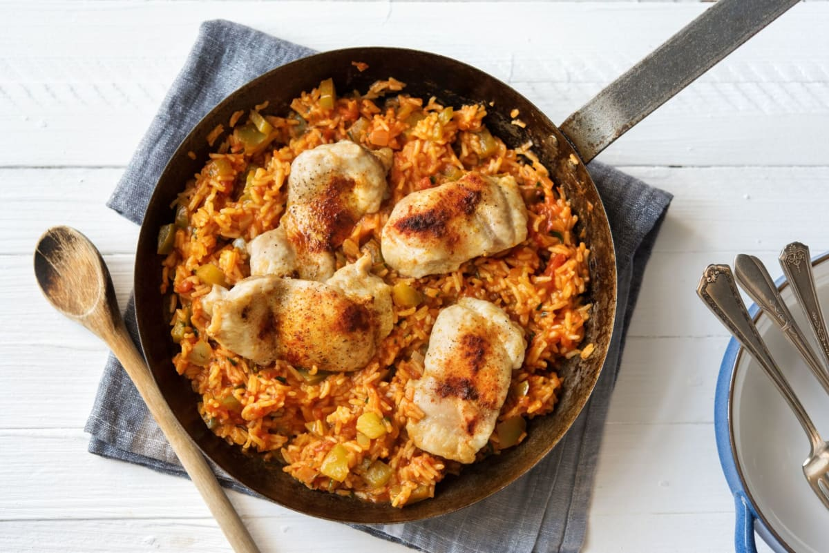 Honey and Orange Chicken Jambalaya