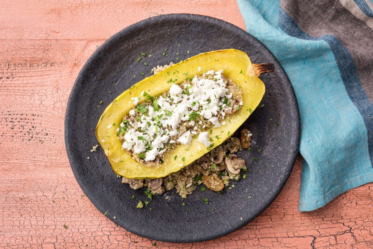 Stuffed Squash Boats