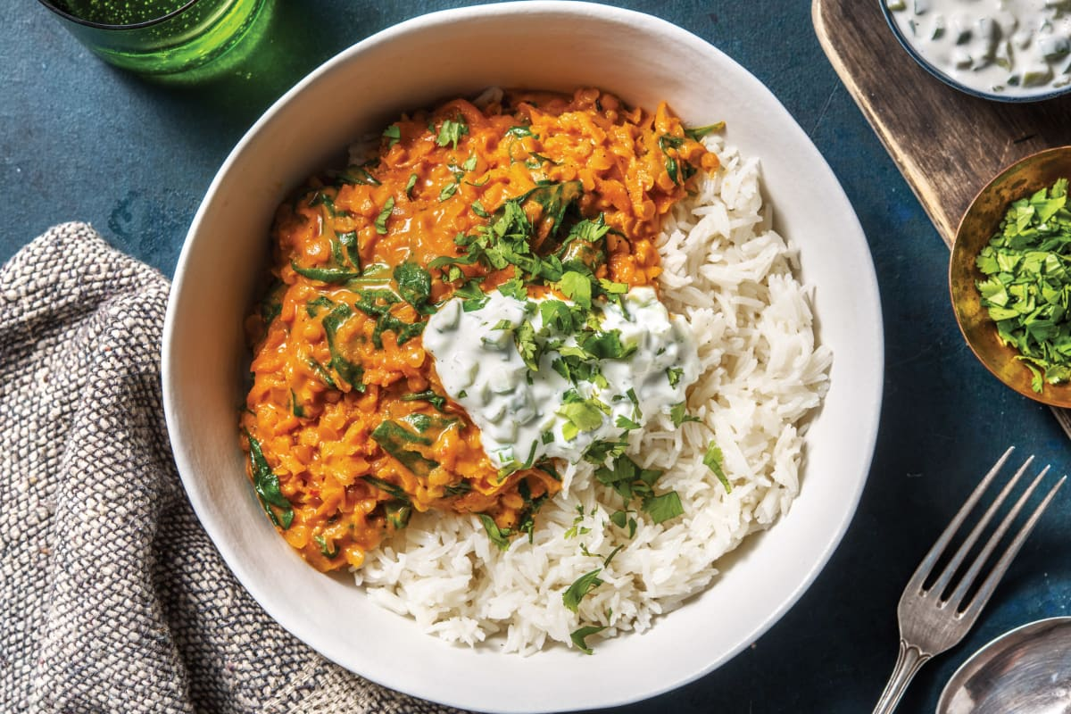 Indian Spiced Coconut Dhal