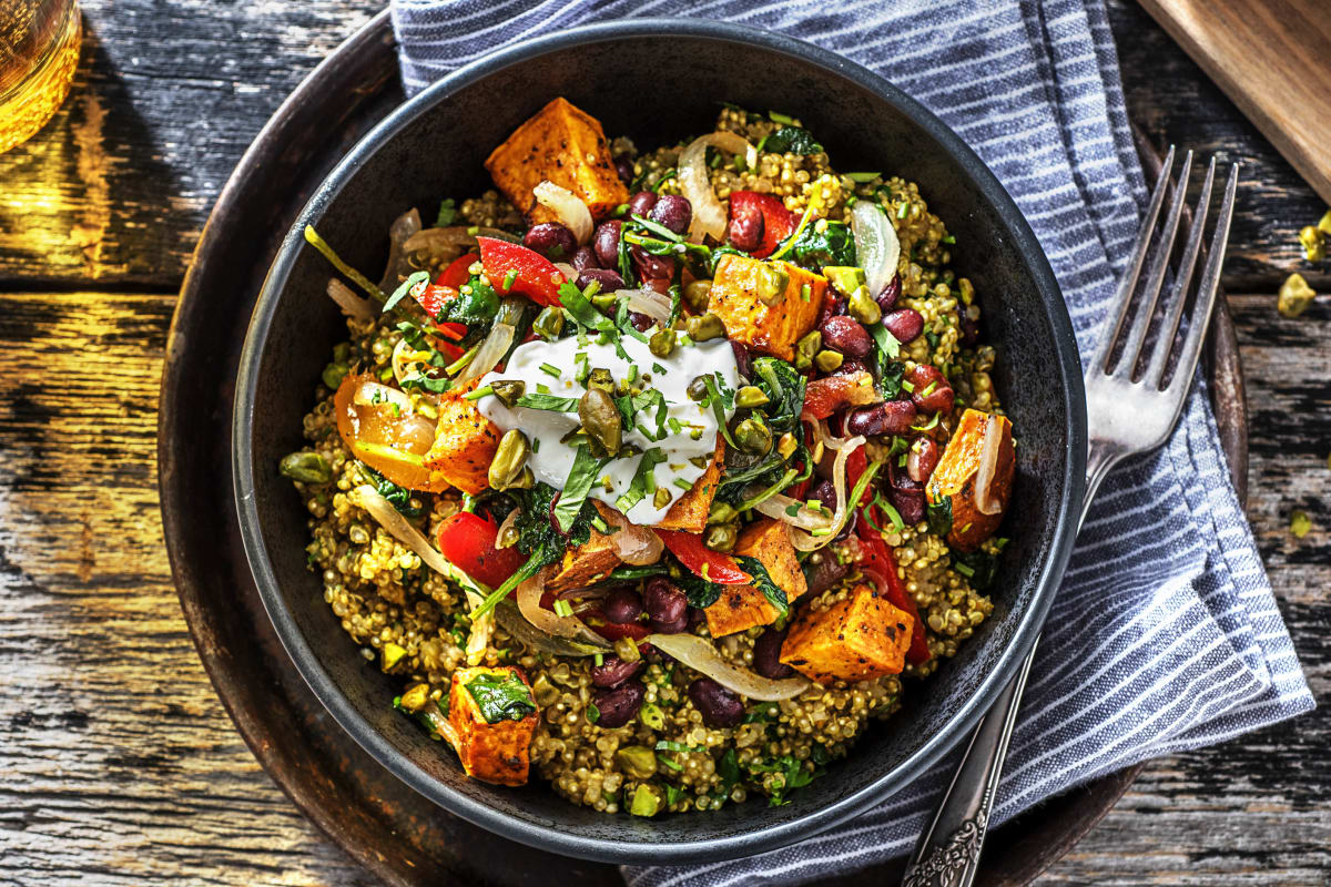 Indian Spiced Quinoa (v)