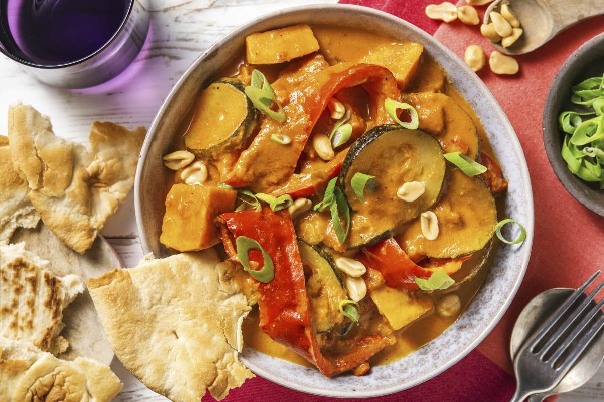 Indisches Süßkartoffel-Curry