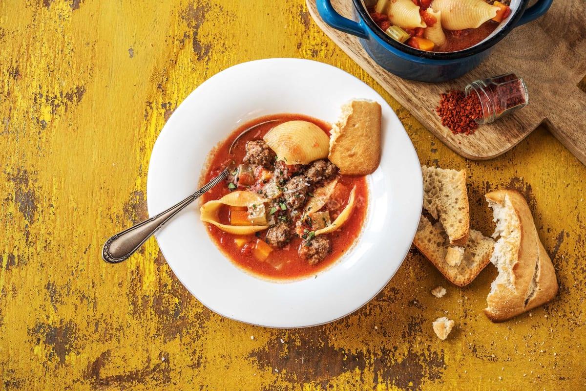 Italian Polpetti Soup