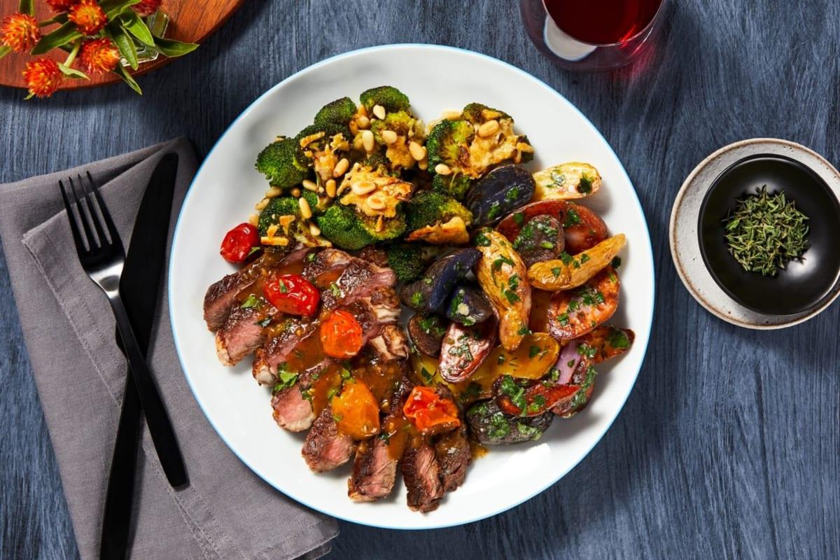 Juicy Tomato Sirloin Steak