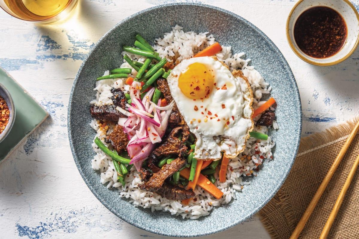 Korean Beef Bibimbap Recipe Hellofresh