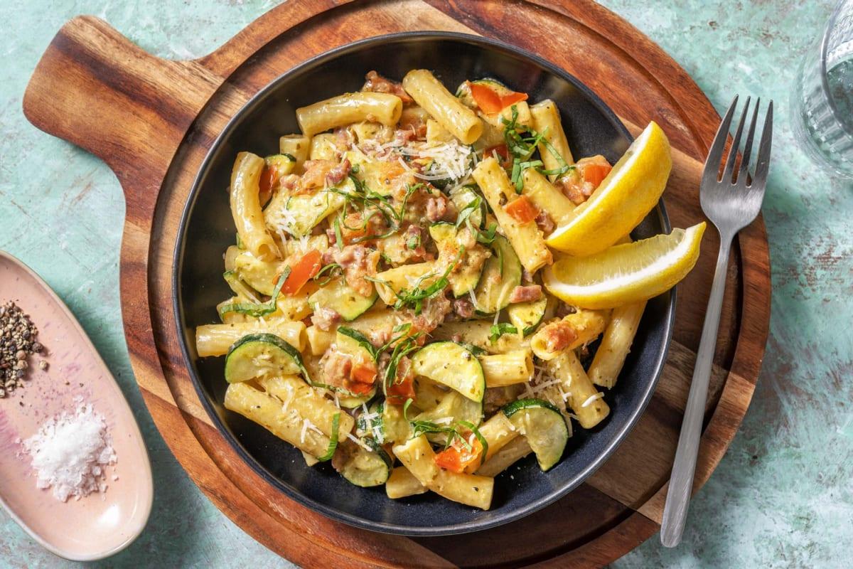 Krämig pasta