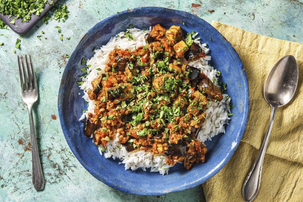 Lamb and Aubergine Curry