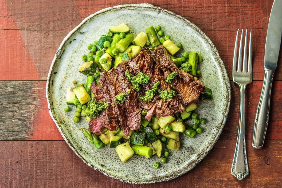 Lean Green Steak Machine