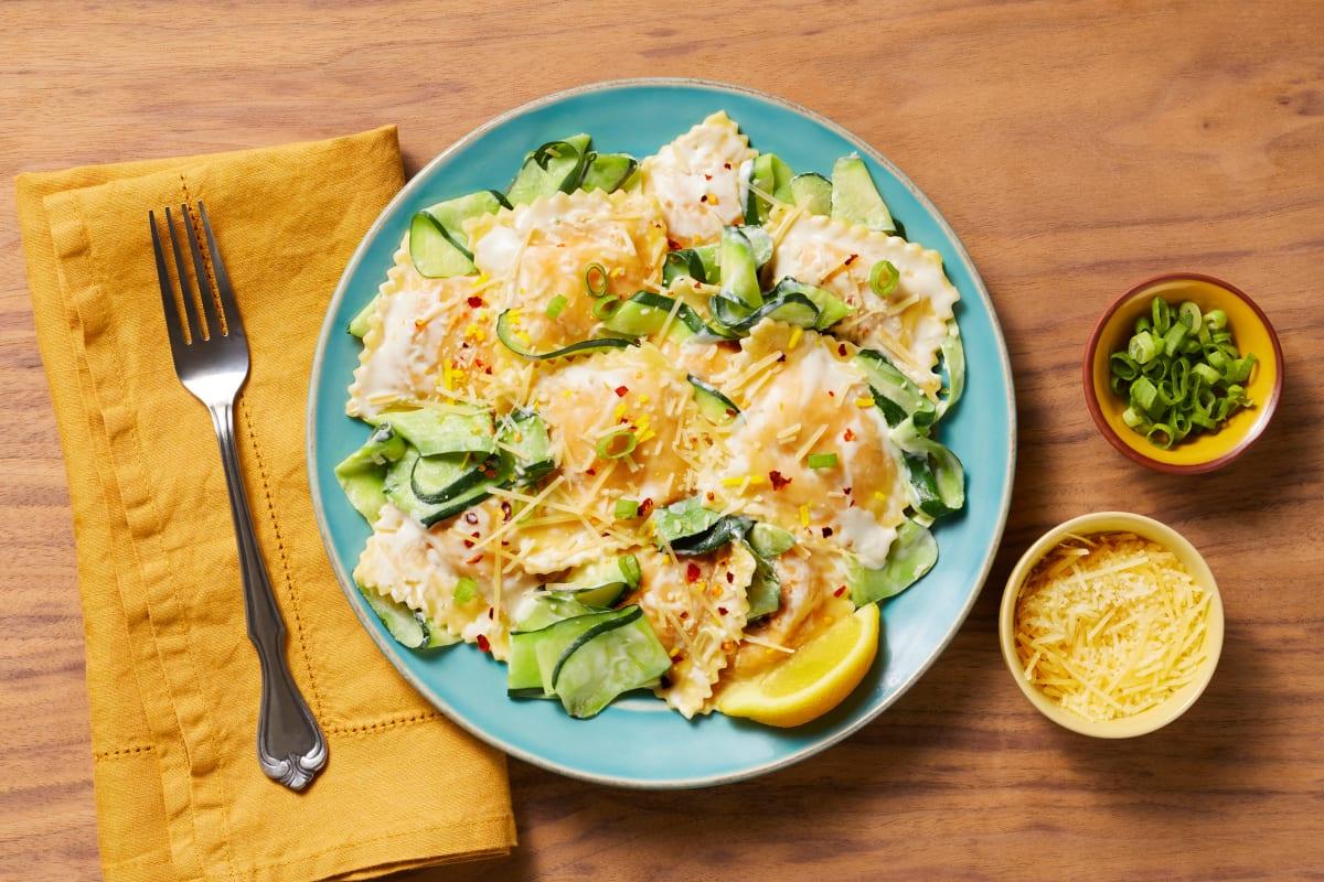 Lemony Lobster Ravioli