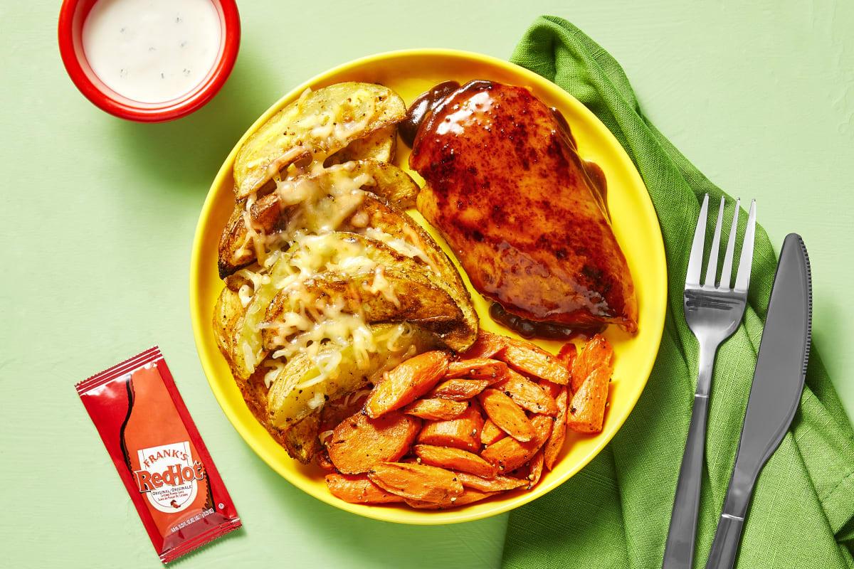 Honey Frank's RedHot® Sauce Chicken