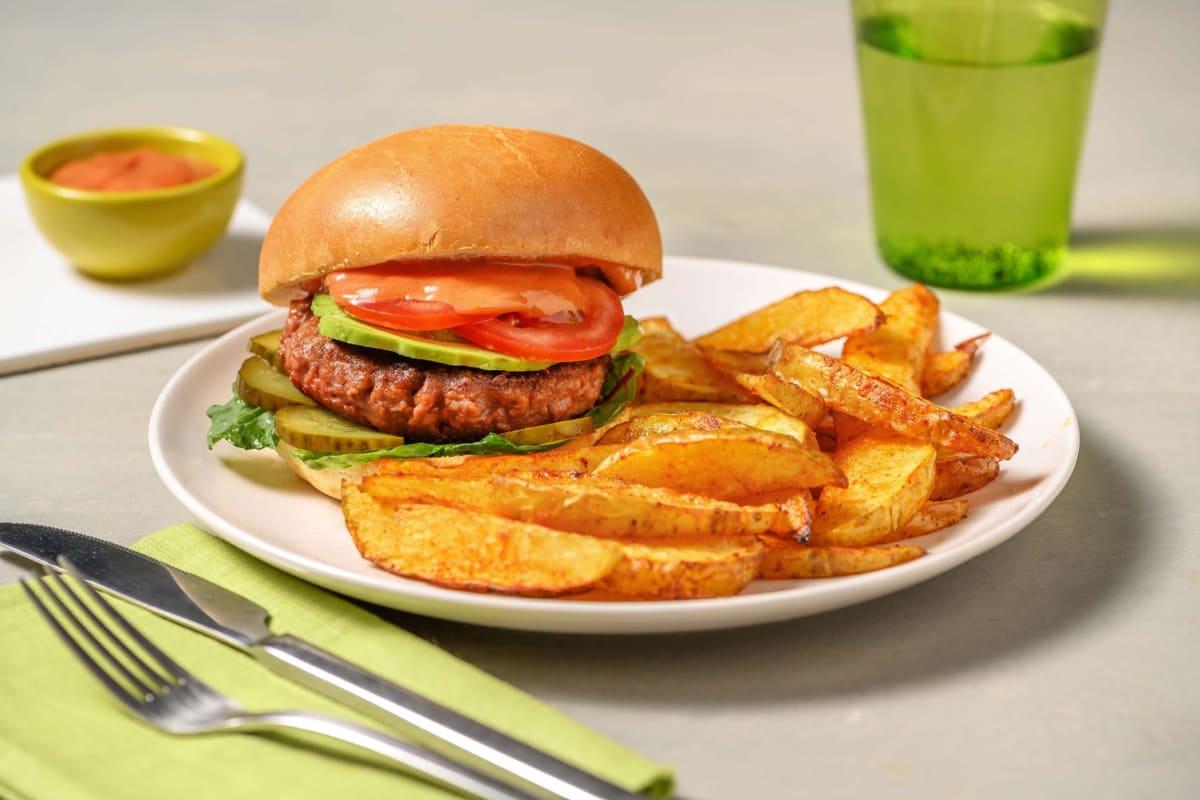 Loaded Meatless Burger